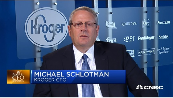 Kroger CFO: Quarter impacted by deflation on top of deflation