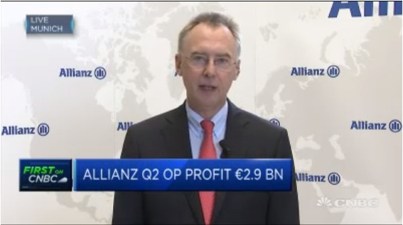 World record quarterly inflows at Pimco: Allianz CFO