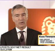 ING's CFO Says Beat From Client Adds, Loan Products