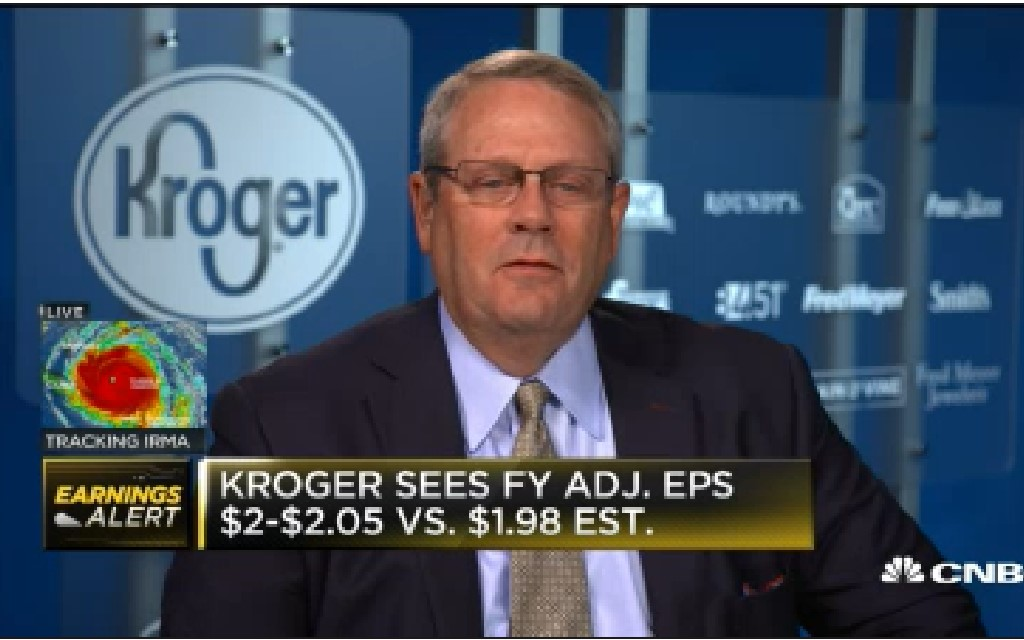 Kroger CFO: Better off giving annual guidance