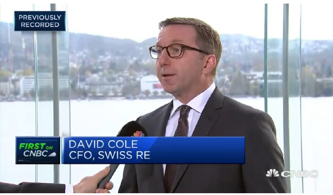 Swiss Re CFO: Storms are events we do expect