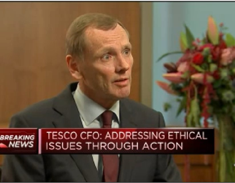 Tesco addressing ethical issues through action, CFO says