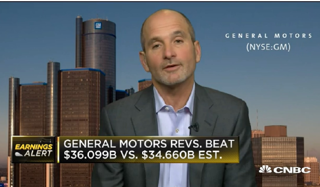 GM CFO: We had an outstanding quarter in China