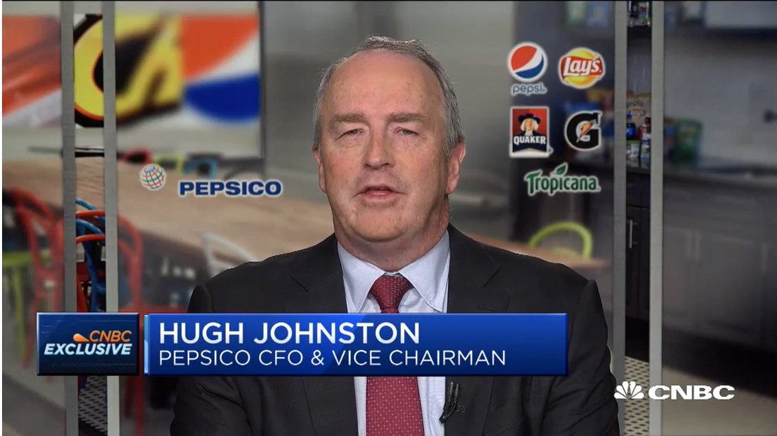 PepsiCo CFO Hugh Johnston on earnings
