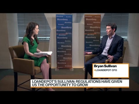 loanDepot CFO Bryan Sullivan Bloomberg TV interview 2018