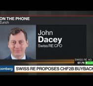 Swiss Re CFO on Buyback, Growth Opportunities, Earnings Outlook