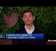 Twitter CFO Ned Segal: We are open to sensible regulation