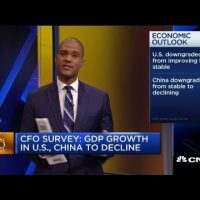 Global CFOs expect U.S. and China GDP growth to slow