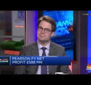 Pearson CFO, Coram Williams on CNBC Europe