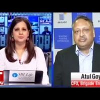 Atul Goyal, CFO of Brigade Entertainment speaks on the strategic shift in the business model