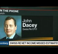Swiss RE CFO on Earnings, Extreme Weather, Premiums