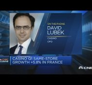 Sales up 9% on average amid coronavirus lockdown, Casino CFO says | Squawk Box Europe