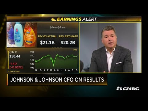 Johnson & Johnson CFO Joseph Wolk on Covid-19 study pause