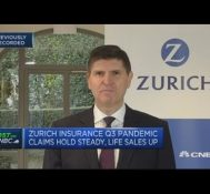 Zurich Insurance CFO says he doesn't expect any further material impact from Covid claims