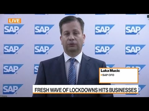SAP CFO Sees `Challenging' Demand Environment Until Mid-2021