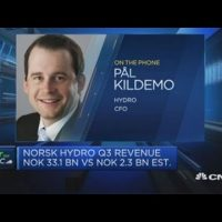 Hydro CFO expects strong recovery despite 'oversupplied markets'