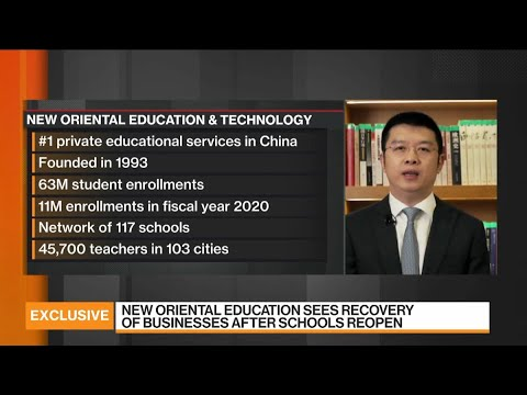 New Oriental Education Business Recovery Is In Process: CFO