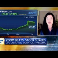 Zoom CFO on video conferencing company's big earnings beat