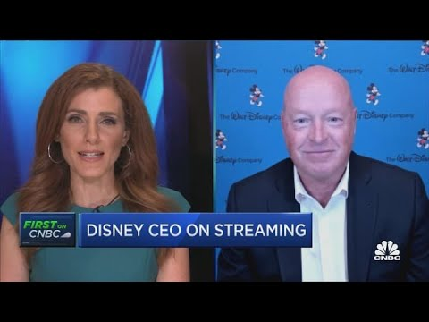 Disney CEO discusses earnings, parks and the company's revenue miss