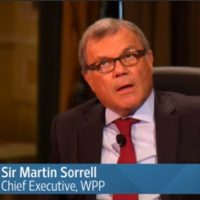 A Conversation with Sir Martin Sorrell, CEO of WPP