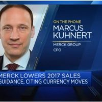 Adverse currency moves affecting top-line guidance: Merck KGaA CFO