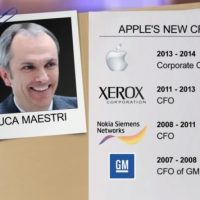 Apple Cash Pile in New Hands in Executive Shuffle
