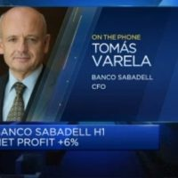 Banco Sabadell CFO: Earnings strong, but concerns over political uncertainty