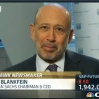 Blankfein: Some exogenous event going to happen