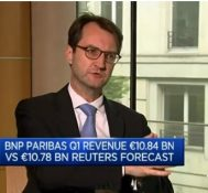 Cost of risk is tapering off: BNP Paribas CFO