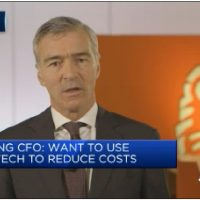 Cyptocurrencies far superior for transactions, ING CFO says