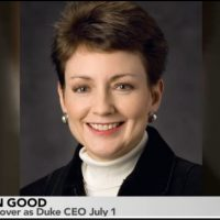 Duke's Good Says CFO Role Prepared Her for CEO Job
