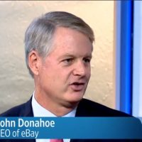 EBay CEO John Donahoe on Icahn, Alibaba, March Madness