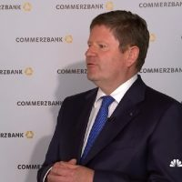 ECB likely to move rates in the second half of 2019: Commerzbank CFO