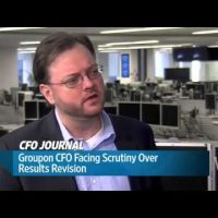 Groupon CFO Facing Scrutiny Over Results Revision