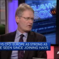 Hays CFO: Europe strongest I've seen since joining Hays