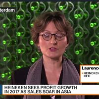 Heineken CFO Says She Is Positive About Their Footprint
