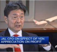 JAL expects 5% growth per year