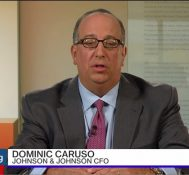 J&J CFO Caruso on 2Q Results, Product Pipeline, M&A