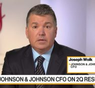 J&J CFO Says 2Q Results 'Not Related to Trade Wars'