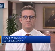 Lot of costs we can't control but we remain competitive: Solvay CFO