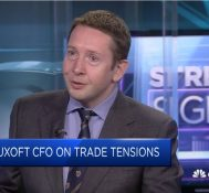 Luxoft CFO: Trade tensions will affect firms close to commodities