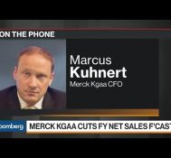 Merck KGaA CFO on Sales Forecast Cut, China Competition
