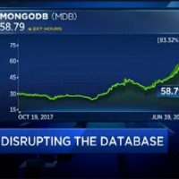MongoDB: Amazon, Google and Microsoft are investing in the success of the cloud business