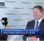 Negative rate environment more than a challenge: Commerzbank CFO