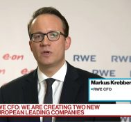 RWE CFO Doesn't Expect Significant Antitrust Hurdles in Eon Deal