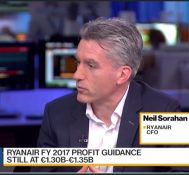 Ryanair's CFO: See More Growth Going Into Mainland Europe
