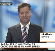 SAP CFO Says Cloud Business Is `Definitely Accelerating'