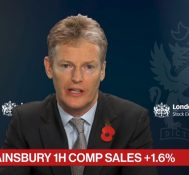 Sainsbury CFO Sees Wage Increases Coming Through