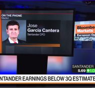 Santander CFO on Earnings, Banco Popular, Catalonia