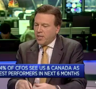 'Uncertainty' in Europe a concern: CFO